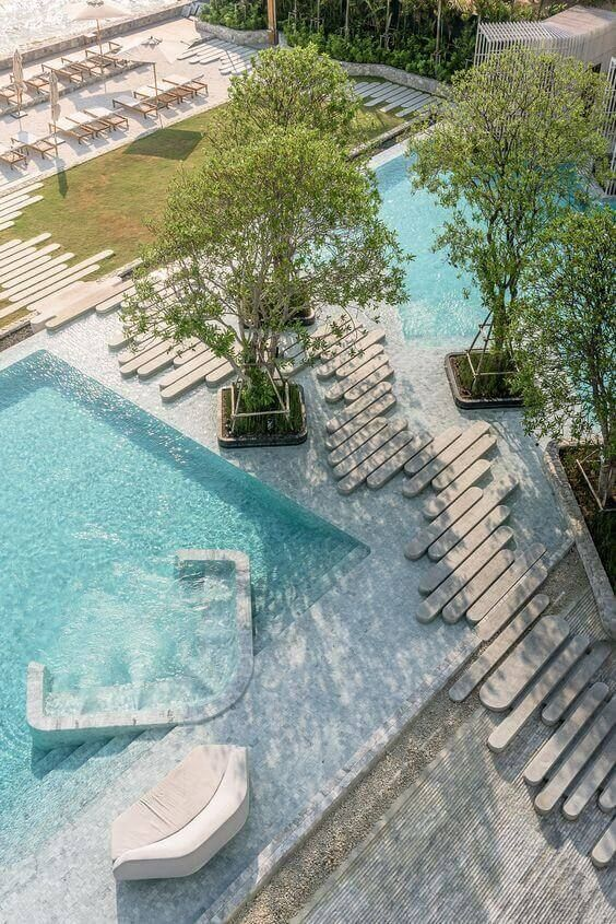 Swimming Pool Aesthetic Ideas: Uniquely Designed Pool