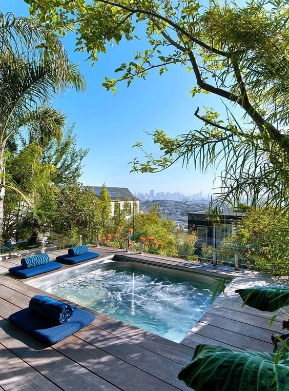 Swimming Pool Aesthetic Ideas: Get The View