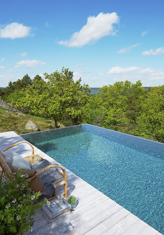 Swimming Pool Aesthetic Ideas: The View Is The Key