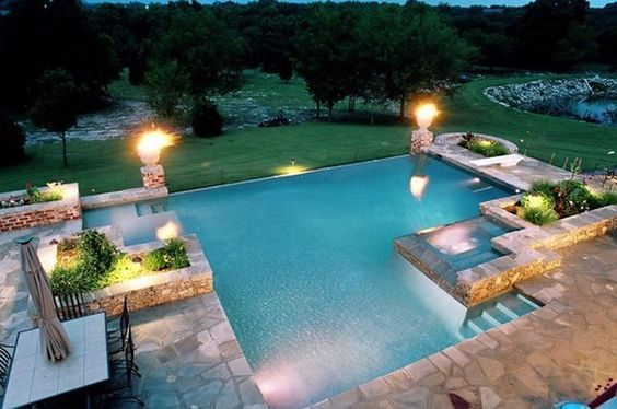 swimming pool aesthetic ideas feature
