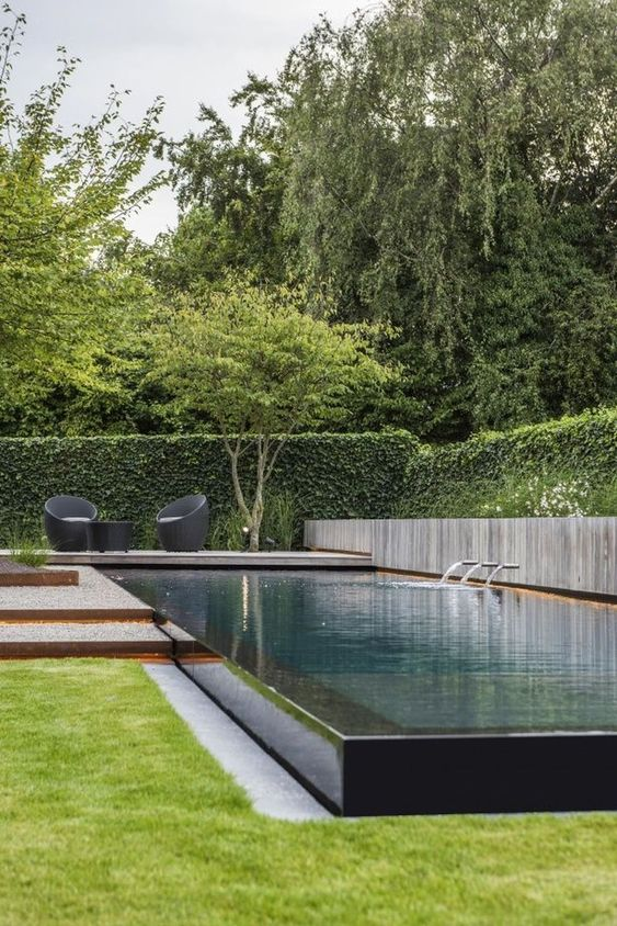 swimming pool garden ideas 14