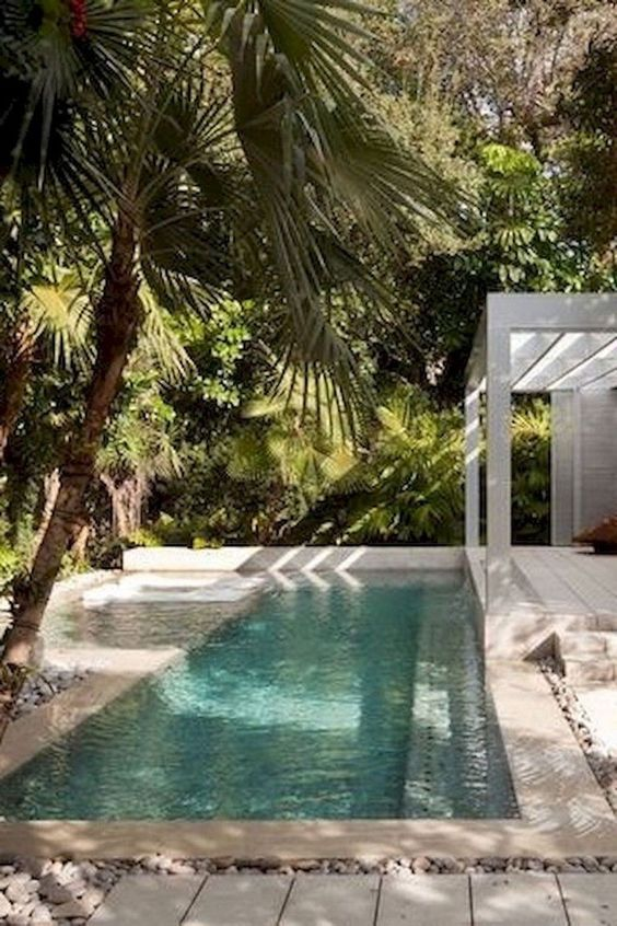swimming pool garden ideas 16