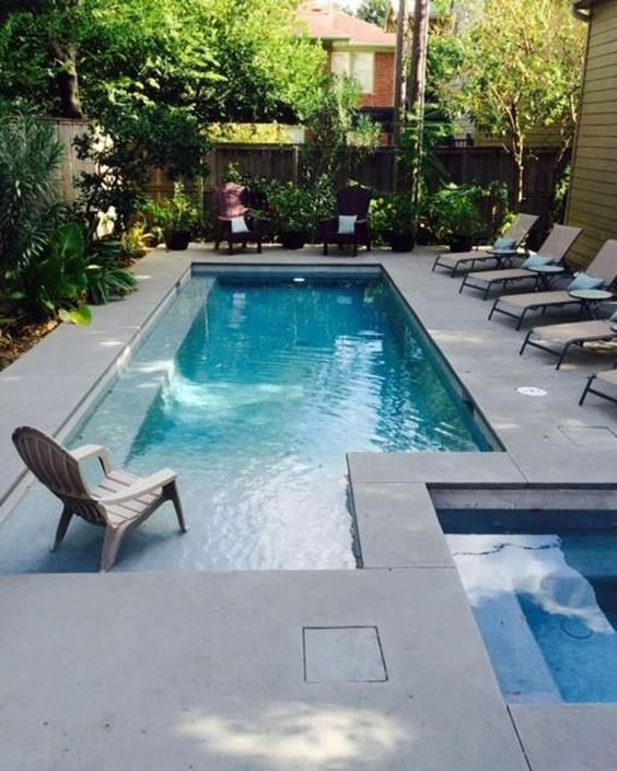 swimming pool garden ideas 17