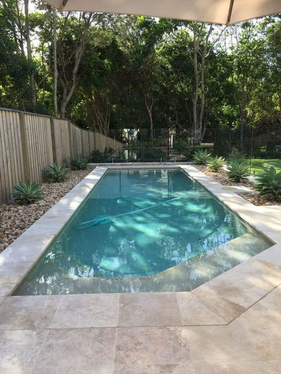 swimming pool garden ideas 18