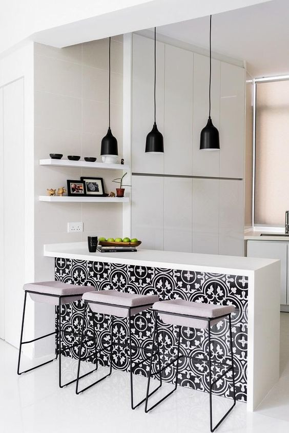 Apartment Kitchen Ideas: The Minimalist Monochrome