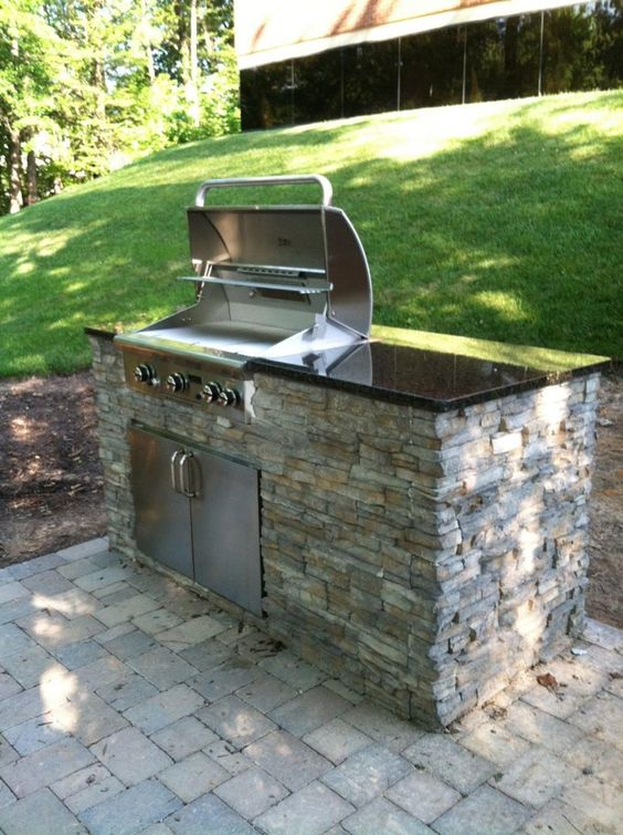 backyard grill ideas 11