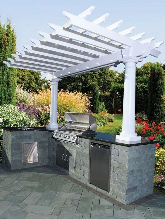 backyard grill ideas 12