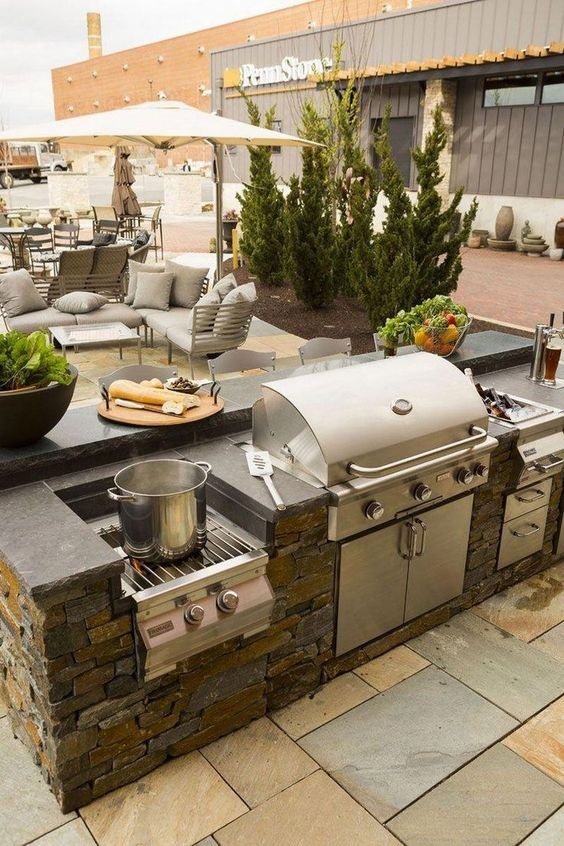 backyard grill ideas 14