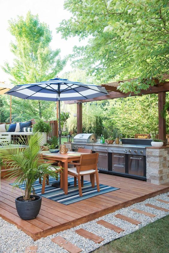 backyard grill ideas 19