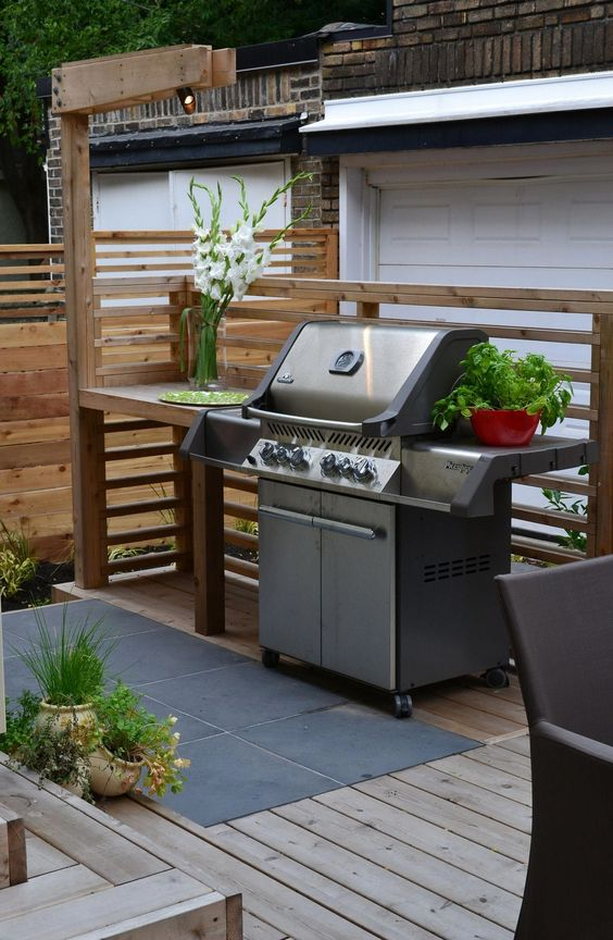backyard grill ideas 9