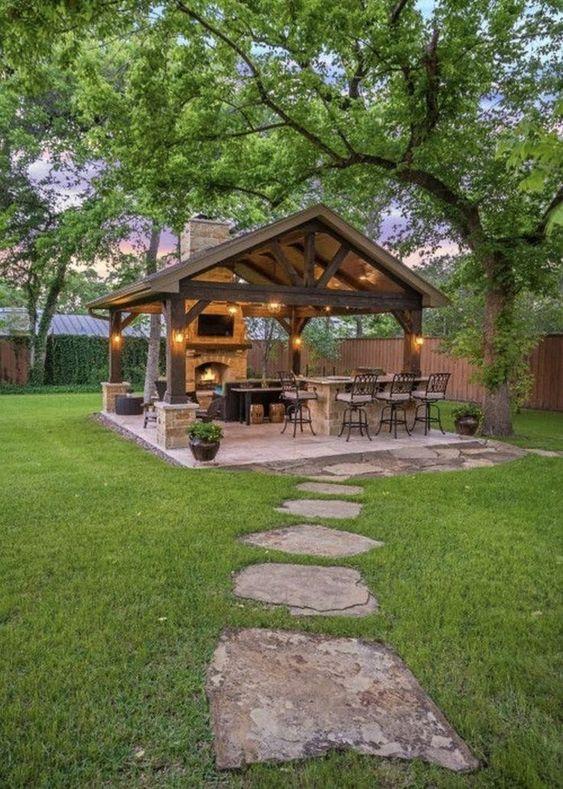 backyard kitchen ideas 10