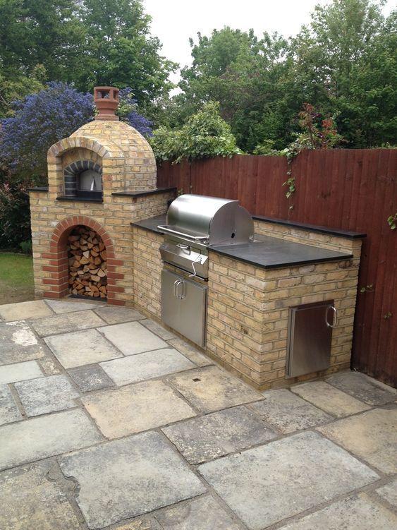 backyard kitchen ideas 11