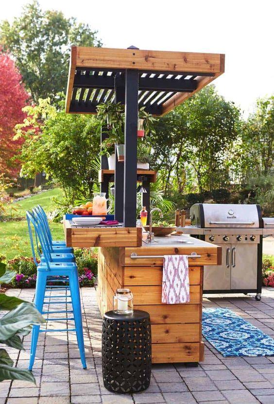 backyard kitchen ideas 12
