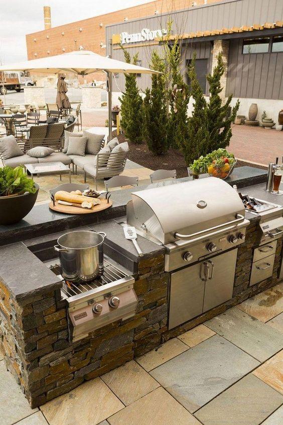 backyard kitchen ideas 13