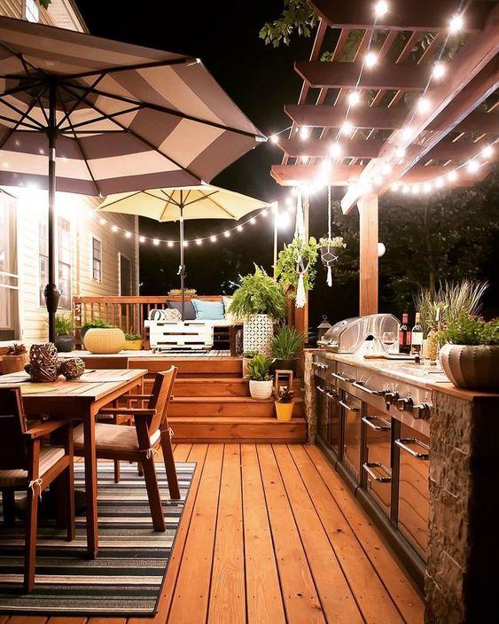 backyard kitchen ideas 16