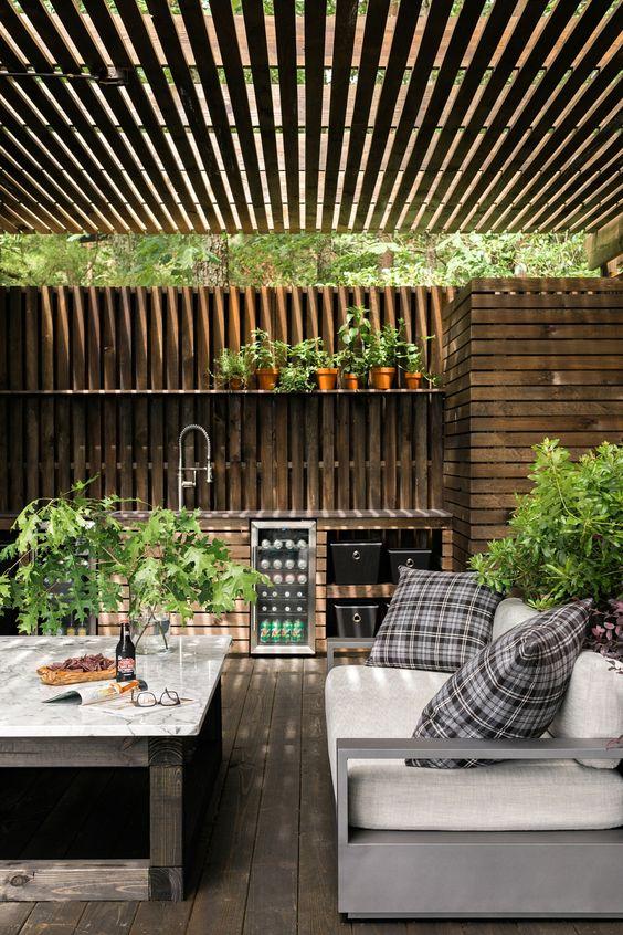 backyard kitchen ideas 18