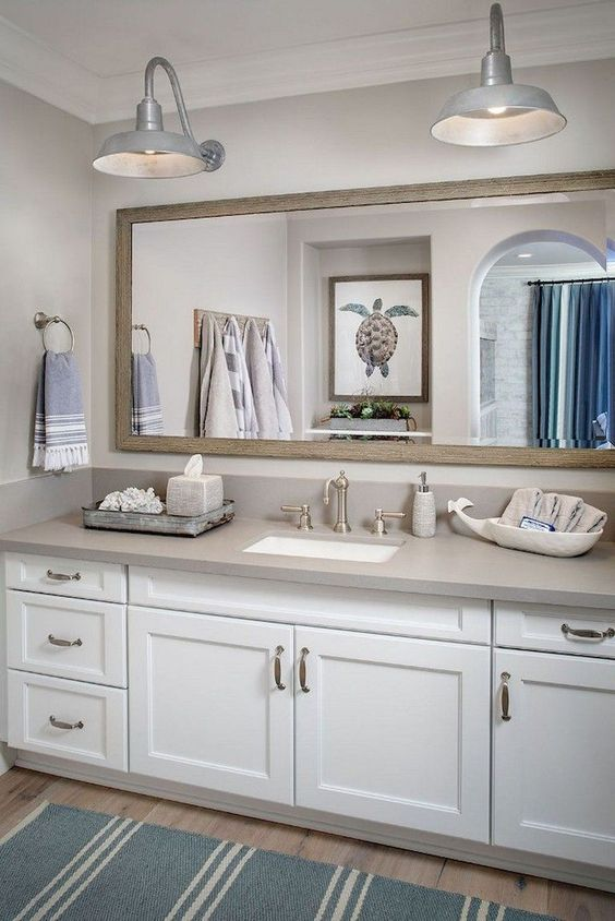 Beach Bathroom Ideas: Cool and Fresh Blue
