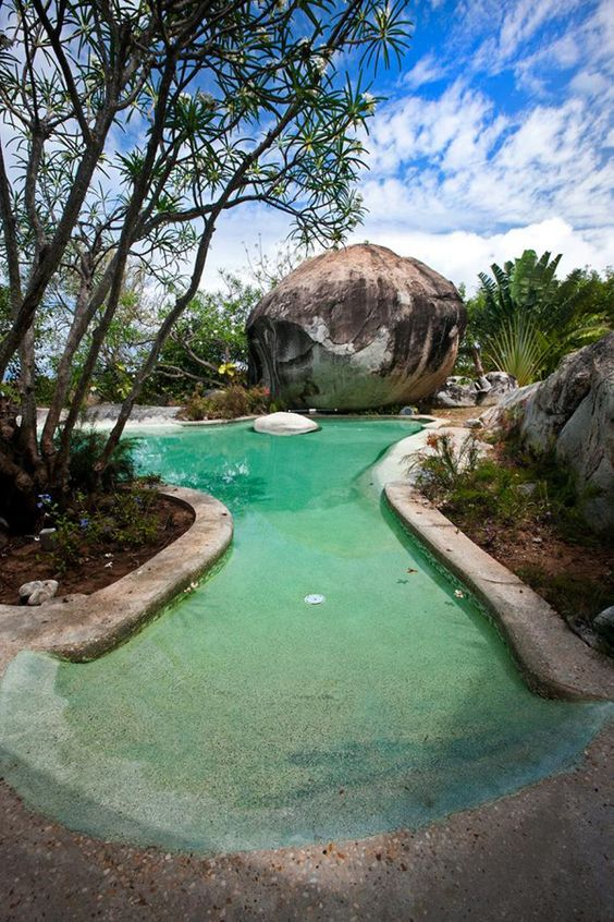 beach entry swimming pool ideas 12