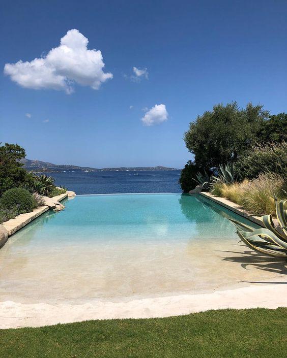 beach entry swimming pool ideas 13