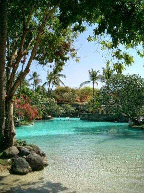 beach entry swimming pool ideas 16