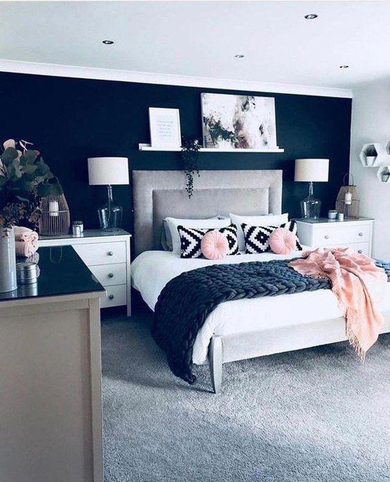 Bedroom Colors Ideas: The Elegant Navy