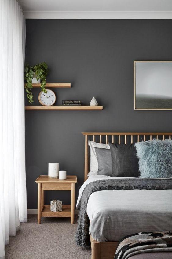 Bedroom Colors Ideas: Calming Rustic