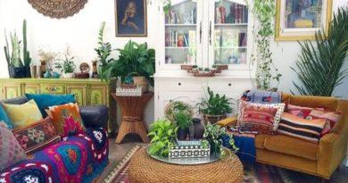 bohemian living room ideas 21