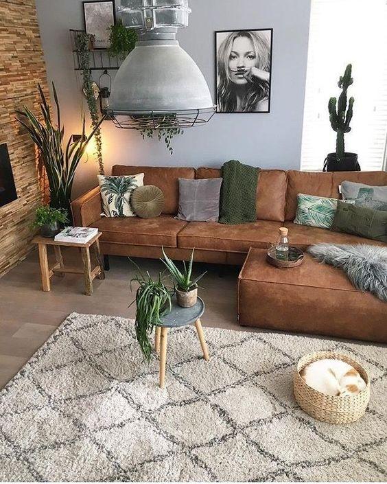 bohemian living room ideas 7