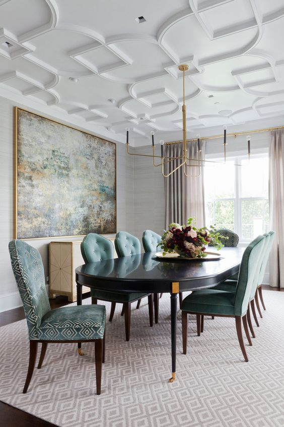 elegant dining room ideas 17