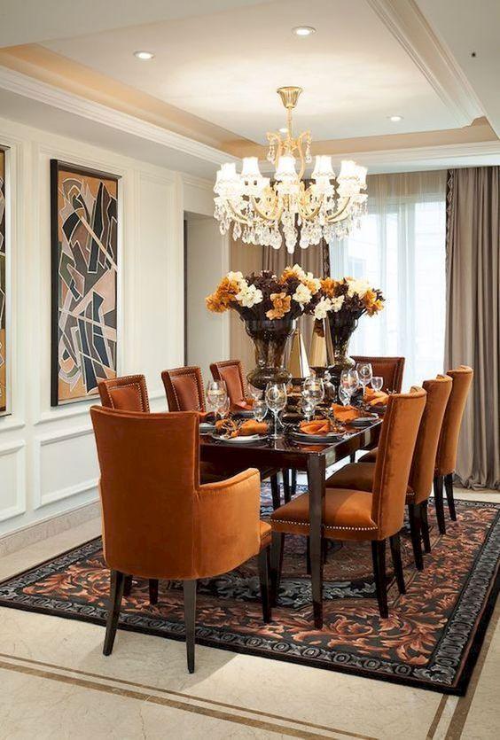 elegant dining room ideas 20