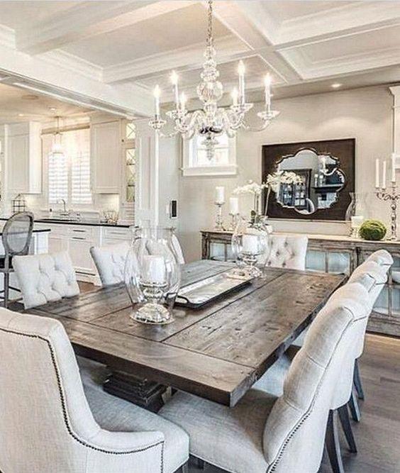 elegant dining room ideas 7