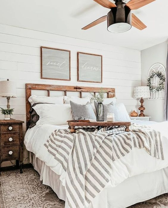 farmhouse bedroom ideas 10