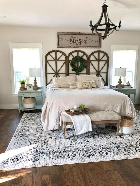 Farmhouse Bedroom Ideas: Go All Out