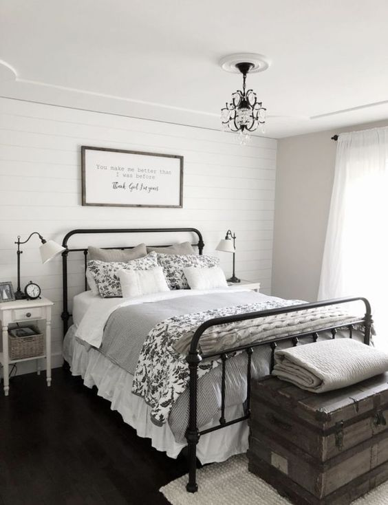farmhouse bedroom ideas 7