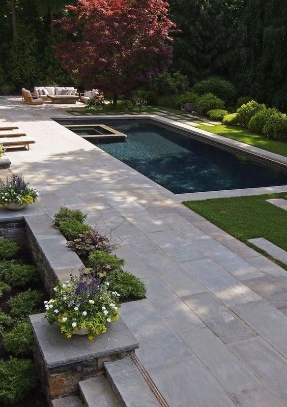 Modern Backyard Ideas: Fresh Swimming Pool