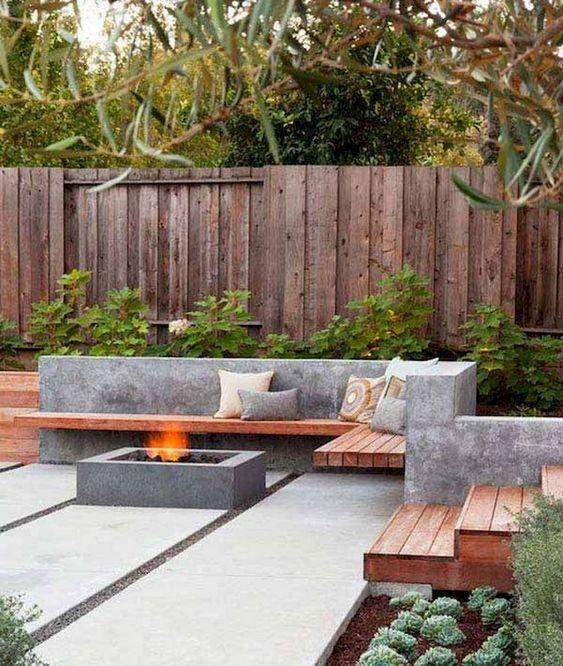 Modern Backyard Ideas: Breathtaking Concrete