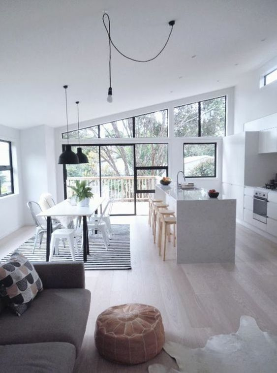 Open Kitchen Ideas: Elegant Open Kitchen