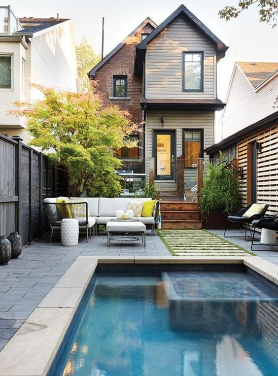 outdoor swimming pool ideas 16