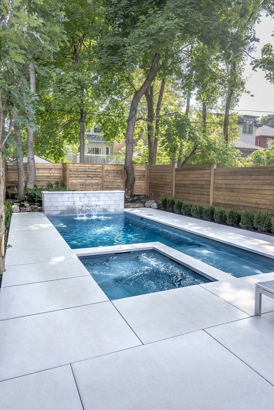 outdoor swimming pool ideas 18