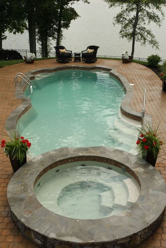 outdoor swimming pool ideas 4