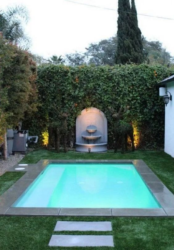 outdoor swimming pool ideas 9