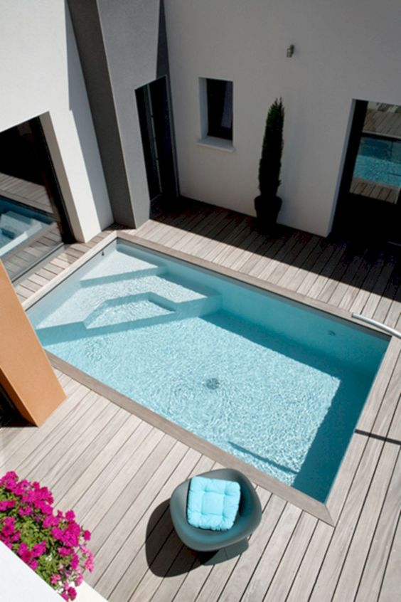 rectangular swimming pool ideas 14