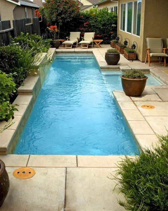 rectangular swimming pool ideas 15