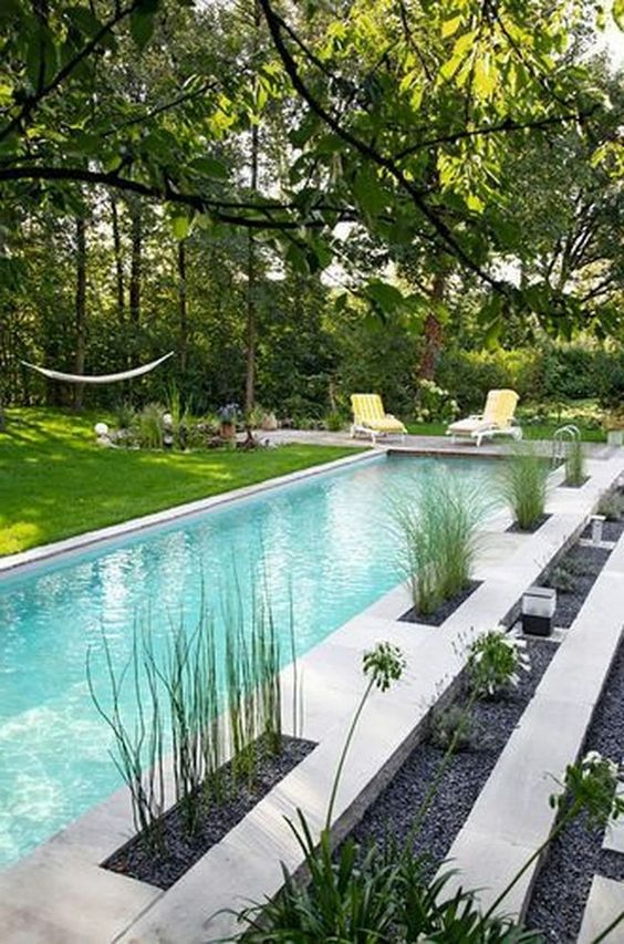 rectangular swimming pool ideas 9