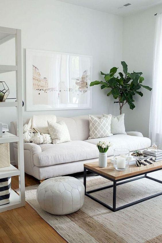 Small Living Room Ideas: Calming Scandinavian