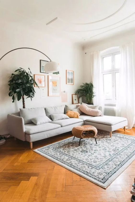 Small Living Room Ideas: Earthy Living Room