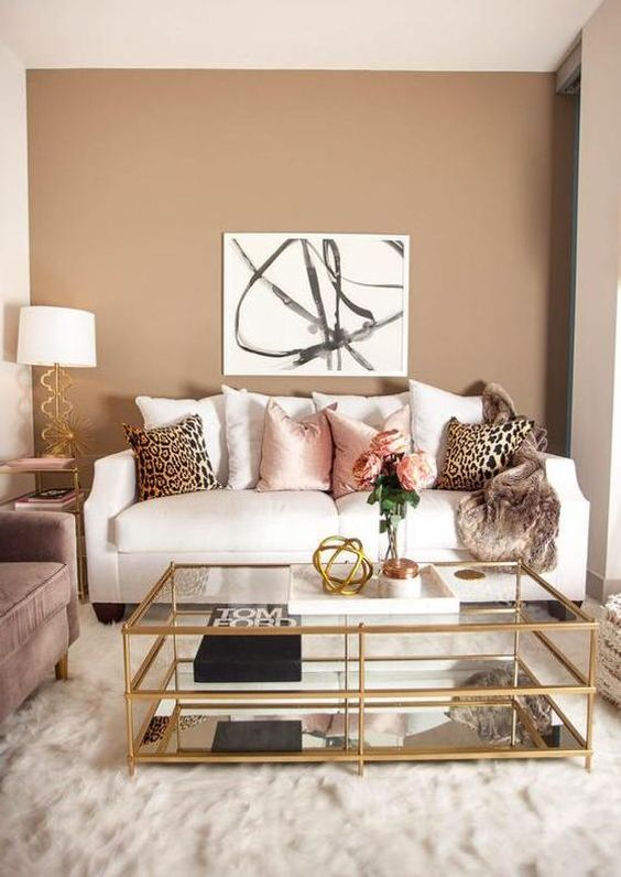 Small Living Room Ideas: Elegant with Pastel