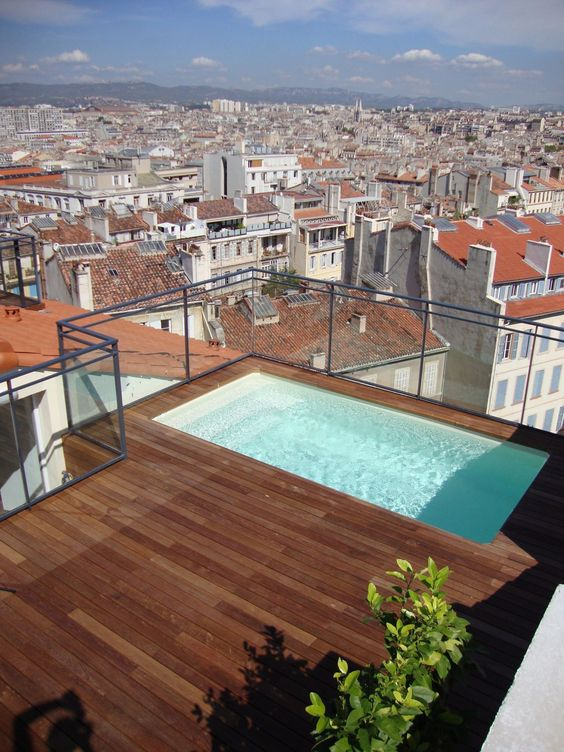 swimming pool rooftop ideas 4