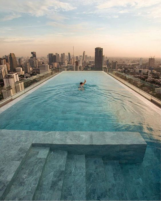 swimming pool rooftop ideas 7