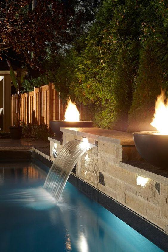 swimming pool waterfall ideas 6